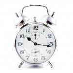 1215187 metal clock