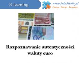 rozpoznawanie waluty euro
